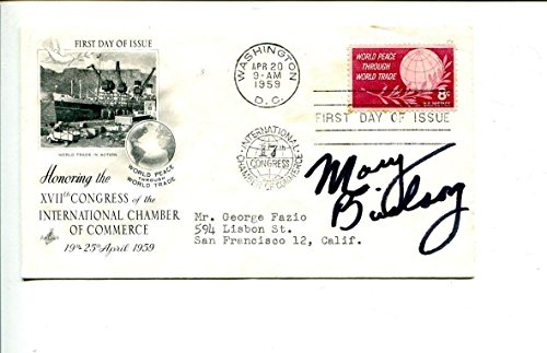 Mary Birdsong Reno 911 Halloween II The Descendants Signed Autograph FDC