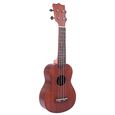 Yvsoo Guitarra Juguete para Niños Ukelele 4 Cuerdas Guitarra Infantil Instrumentos Musicales Educativos Simulación Juguete Regalo