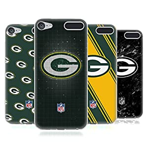 Official NFL 2017/18 Green Bay Packers Soft Gel Case for Apple iPod Touch 6G 6th Gen by Head Case Designs