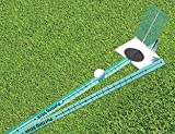 TPK Golf Training Aids: 'Putting Stick'; Golf Swing Trainer for Putting Green Eyeline Alignment and Putt Speed