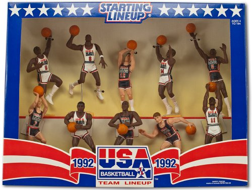 Lineup Starting - 1992 Kenner Starting Lineup USA Basketball Olympic Box Set