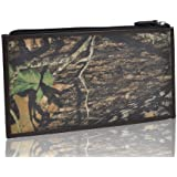 Motony Real Leather Camouflage Pattern Retro Mens and Womens Wallet Purse