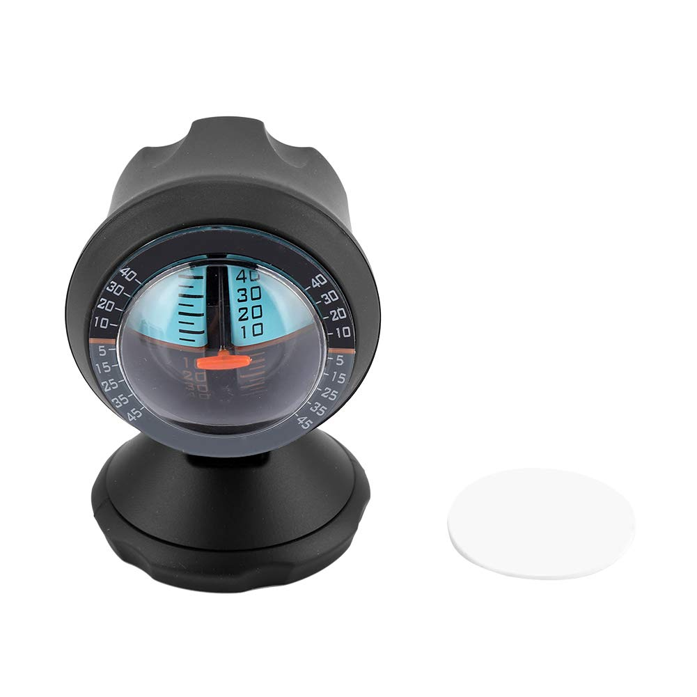 Jadeshay Car Inclinometer - Vehicle Vehicle Inclinometer, Road Safety Instrument Level, Slope Indicator