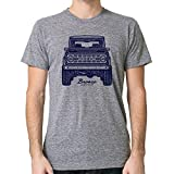 GarageProject101 Classic Ford Bronco Front T-Shirt (Athletic Gray, XXL)