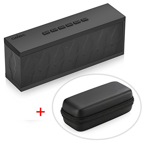 AELEC SoundTorch Bluetooth Speaker Latest Generation Wireless Speakers Water Resistant 10W Output Power Speaker Device with Excellent Performance for Outdoor or Indoor Activities, Free Portable Case