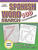 Large Print Spanish Word Search Puzzle Book for