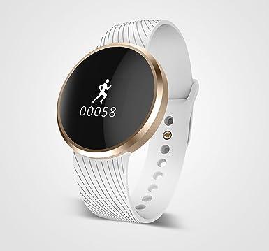 hotinlee Wearable Smartwatch Bluetooth 4.0 inteligente reloj de pulsera teléfono para IOS iPhone Android smartphones –