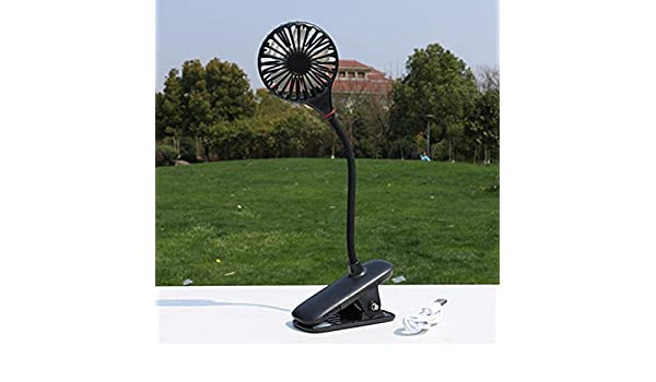 iHHAPY Handheld Mini Fan,Outdoor Portable Foldable Cooling Fan USB Rechargeable Fan with Mirror