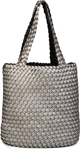 bag bags bag bag grey styleBREAKER woven Color 02012182 bag shopping brown look in ladies set Dark hand in of shoulder Black bag Bronze 2 Antique bag reversible xfYqYTAw7