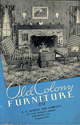 Old Colony Furniture   1937: Antique Trade Catalog By [Heywood Wakefield  Company]