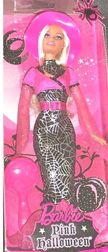 Barbie Pink Halloween Barbie in Halloween Costume]()