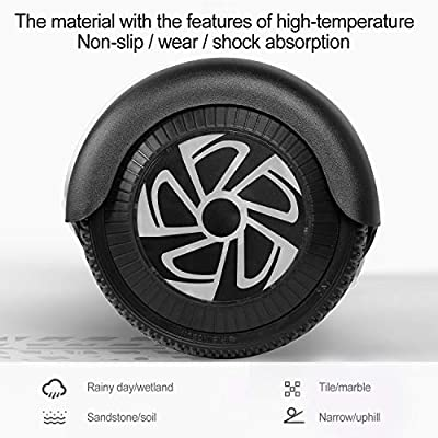Sea Eagle Hoverboard Self Balancing Scooter Hover Board for Kids Adults with UL2272 Certified, Wheels LED Lights and Portable Carrying Bag (Black)