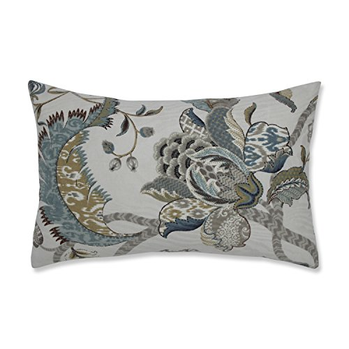 Pillow Perfect Finders Keepers Rectangular Throw Pillow, Blue - Blue Rectangular Pillow
