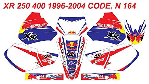 DOG RACING DESIGN N 164 HONDA XR 250 400 1996-2004 GRAPHIC KIT