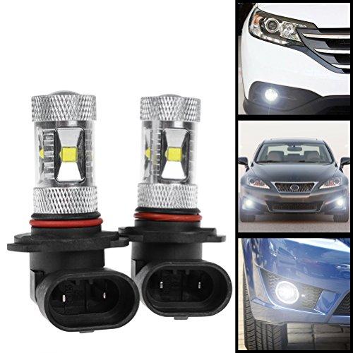 2X Super Bright Xenon White 30W 9005 HB3 H10 9145 6-LED w/Projector Lens Driving Running Fog Light Bulb For Honda Toyota Subaru Nissan Mazda--NEW 2015