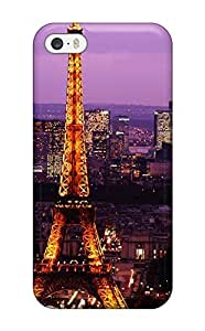 New Cute Funny Eiffel Tower Case Cover/ Iphone 5/5s Case Cover(3D PC Soft Case)