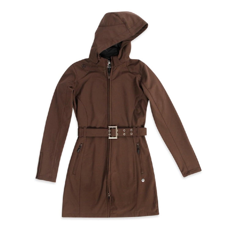 f2ccbf70d527 Mercedes Benz Women s Soft Tech Long Shell Jacket Waterproof Detachable  Hood good