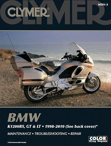 bmw k1200rs lt and gt 1998 2010 clymer motorcycle repair penton rh amazon com bmw k1200lt owners manual pdf bmw k1200lt repair manual download