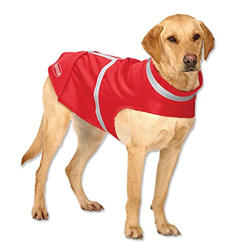 Orvis Reflective Softshell Dog Jacket, Red, X Large by Orvis