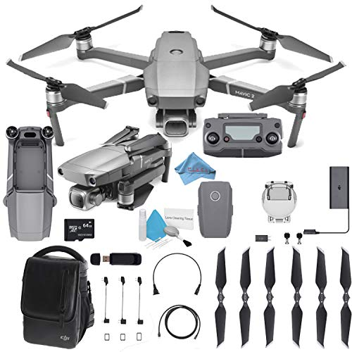 "DJI Mavic 2 Pro Drone Quadcopter with 24-48mm Optical Zoom Camera Video UAV 12MP 1/2.3"" CMOS Sensor (US Version)"
