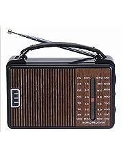 Jolon Radio RX-608ACW - Brown Electric and Stones