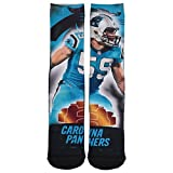 NFL CAROLINA PANTHERS LUKE KUECHLY SOCKS - CITY STAR, ONE PAIR