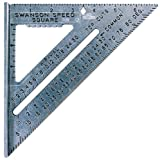 50 Pack Swanson S0101 The Original Speed Square Rafter Square W/Book