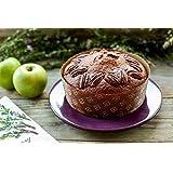 Round Cake Low Panettone Paper Pan Mold - 7 1/4'' X 2 3/8'' - 12Pcs