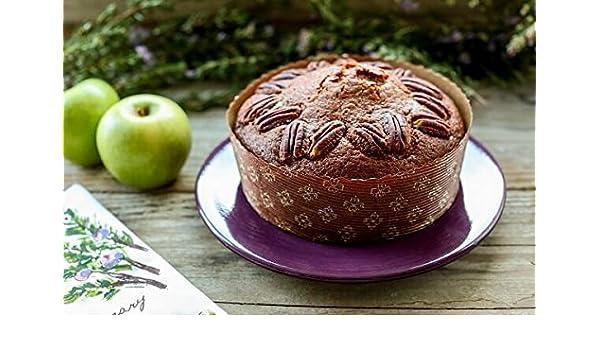 Pan molde de papel redonda Cake bajo Panettone - 7 1/4