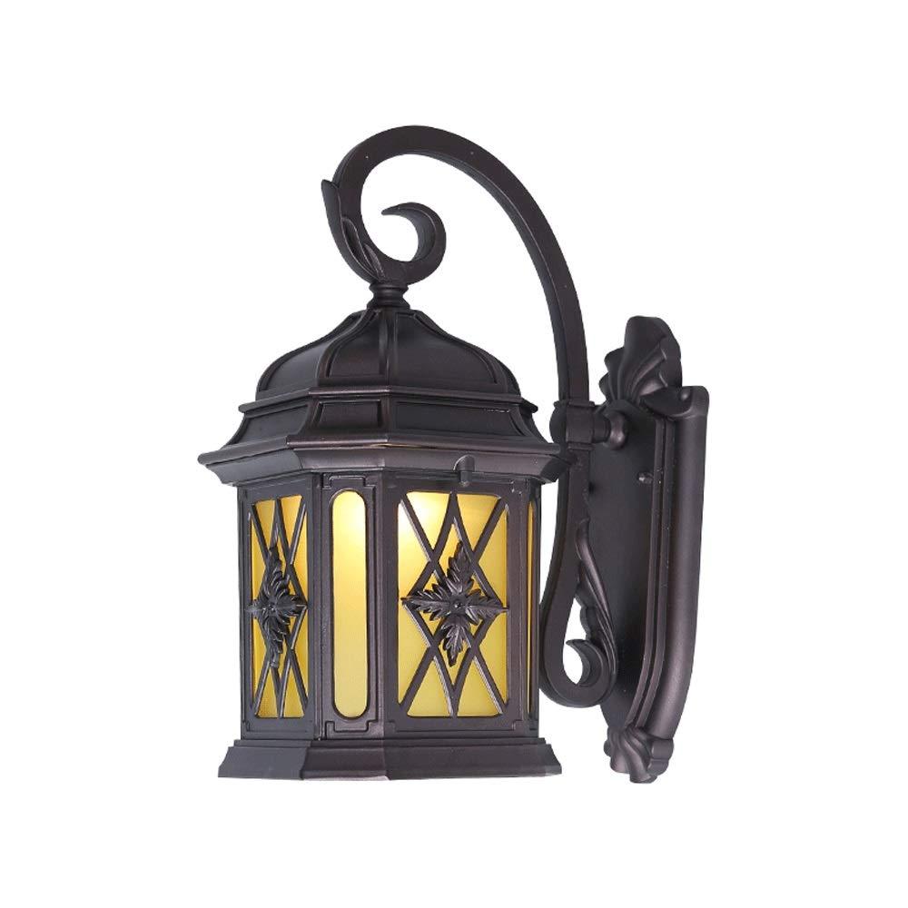 KIOio Lampada da Parete per Esterni Tecnologia Creativa Lampada da Parete in Vetro Lampada da Giardino Impermeabile Villa Lampada da Parete per Esterni Balcone Lampada Retro