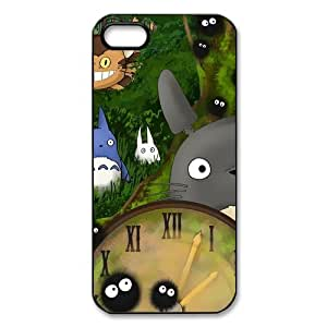iPhone 5/5S Case,5S Case,iPhone 5S / 5 Case,Case for iPhone 5 [Totoro] Protective Cover Skin for iPhone5S,Rubber Protective Cover Skin for iPhone 5 & iPhone 5S