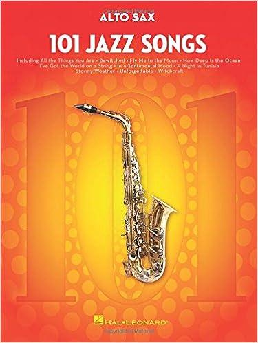 101 Jazz Songs for Alto Sax: Amazon co uk: Hal Leonard Corp: Books