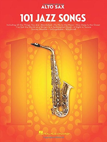 Bb Saxophone Pop - 101 Jazz Songs Alto Sax