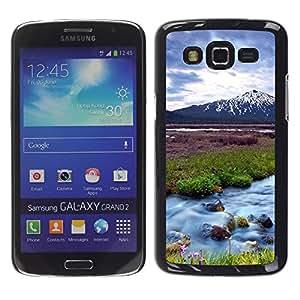 Be Good Phone Accessory // Dura Cáscara cubierta Protectora Caso Carcasa Funda de Protección para Samsung Galaxy Grand 2 SM-G7102 SM-G7105 // Nature Beautiful Forrest Green 63