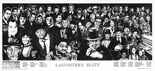 Studio B Laughters Elite by Howard Teman Movie Poster 36x19 inch