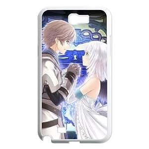 Samsung Galaxy Note 2 White phone case shining ark Birthday gift Best Xmas Gift for Boy JFE4405487