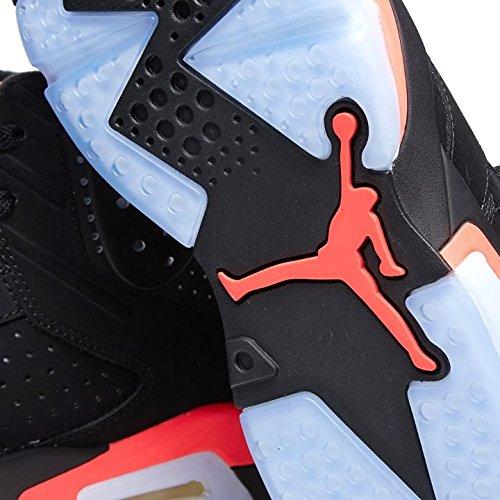 Nike Air Jordan 6 Retro Scarpe Sportive Uomo Nero Rosso black Infrared 23-black