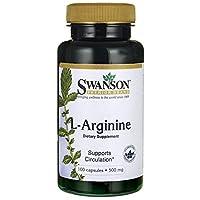 Swanson L-Arginine (500mg, 100 Capsules)