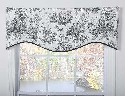 Victor Mill Jamestown Shaped Valance