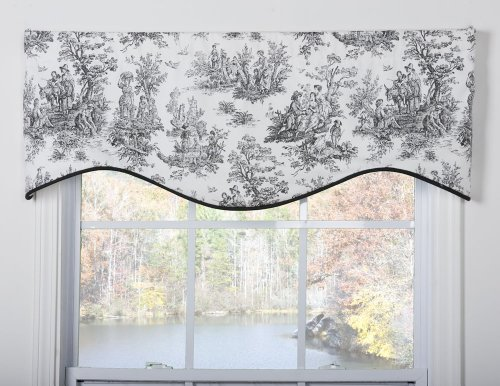 Victor Mill - Victor Mill Jamestown Shaped Valance