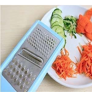 Kitchen Tool New 3 In 1 Multifunction Vegetable Fruit Cutter Slicer Shredder Veg Carving Tool Random Color