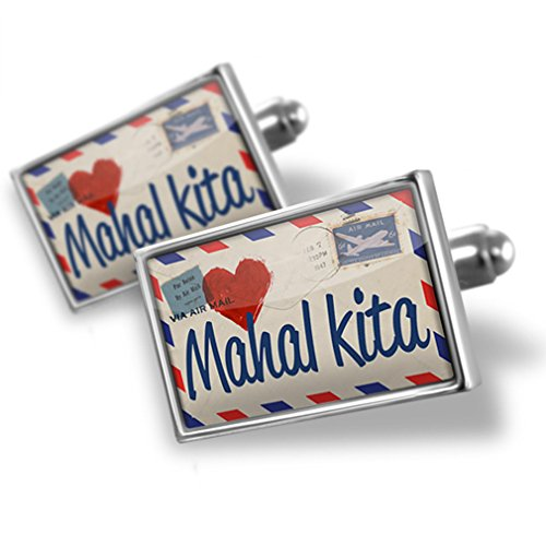 Cufflinks I Love You Filipino Love Letter from the Philippines - Neonblond by NEONBLOND (Image #3)'