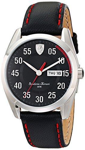 ferrari-mens-0830173-d-50-analog-display-quartz-black-watch