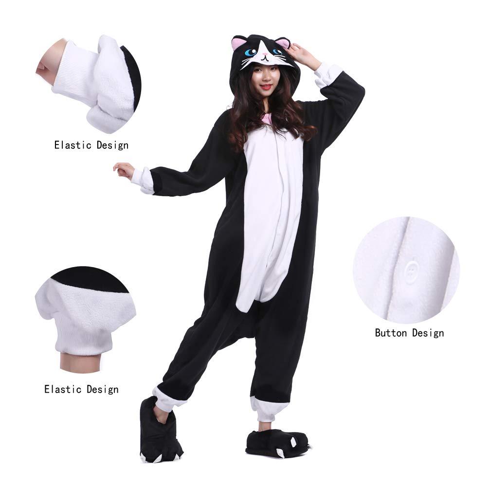 DarkCom Adulto Un Pezzo Cartoon Pigiama Unisex Costumi di Animali di Fantasia Cosplay Vestito Tute