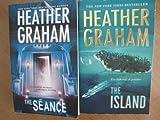 heather graham the seance the island 2 paperbacks