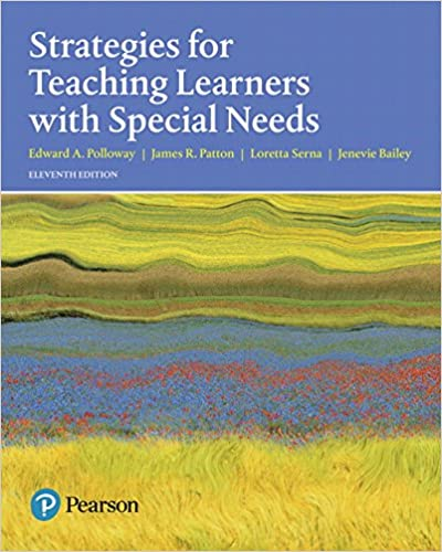 Strategies For Teaching Learners With Special Needs With