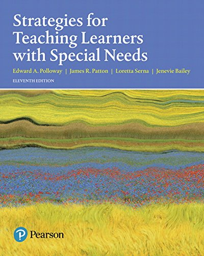 Strategies for Teaching Learners with Special Needs (11th Edition)