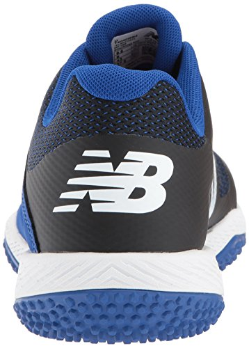 New Balance Men's T4040v4 Turf Baseball Shoe Black/Blue fast delivery sale online free shipping shop for fashionable online 92aj7Lnk