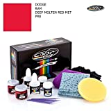 DODGE RAM / DEEP MOLTEN RED MET - PR8 / COLOR N DRIVE TOUCH UP PAINT SYSTEM FOR PAINT CHIPS AND SCRATCHES / PRO PACK