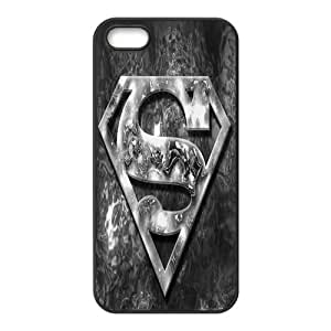 jianshop Superman Custom Design Cover For Apple iphone 5/5s Case Cover